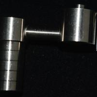 Titanium Clous Domeless 14mm18mm Godets universels Honey Titane Nail Bolw pour tuyaux d'eau Bongs 2 en 1 Oil Rigs Titanium Nail