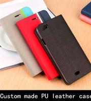 Para LG personalizada cuero de la PU del teléfono móvil de la cubierta del tirón de los casos con el portatarjetas para LG G flex / Lancet / vw820 / G3 / G4 / fino / Bello