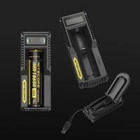 NITECORE UM10 Digicharger LCD Display 18650 Battery Charger ...