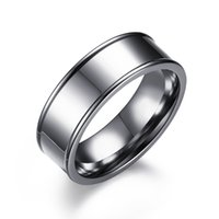 Stainless Steel Rings New Fashion English Characters Carved ...