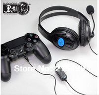 Wholesale- Headphone for PS4 black with bonus of 2pcs of nice...