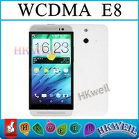 HDC One E8 1: 1 M8 MTK6572 Dual Core Cell Phone 4GB ROM 5. 0+ 1...