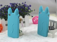 Cat Ear Silicone Skin Back Case Cover For iPhone 5 5S Iphone...