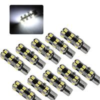 White Ba9s T10 920 168 24 2835 SMD LED Bulbs For Car indicat...