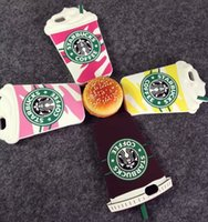 3D Starbucks Frappuccino Coffee Cup soft Silicone Rubber Cas...