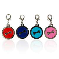 (4 Colors Mixed) Brand New Dog Pet Tags Pendants Charms Pers...