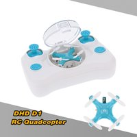 DHD D1 Mini Drone 2.4G 4CH RTF Flip 3D Headless RC Quadcopter RTF Pocket Drone RC Quadrocopter RM3769