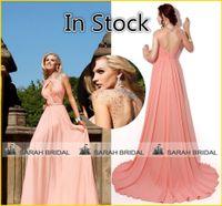 2015 Coral Evening Dresses Tarik Ediz Inspired Fashion Sheer...