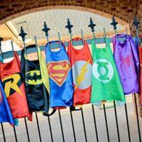 superman cape superhero cape children boy costume for childr...