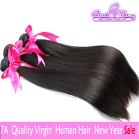 3pcs lot TOP SELLING Hair Extensions 7A Peruvian Malaysian I...