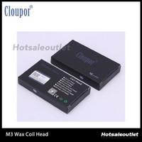 Cloupor atomiseur Coil Head Cloutank Série M3 Cartomizer pour Dry Herb / Wax Coil Replacement Head Coil 100% Original