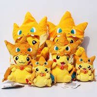 2016 Poke Pikachu Cosplay Charmander Brinquedo Stuffed Plush...