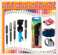 2015 newest Foldable pen pocket Handheld monopod mini Wired ...