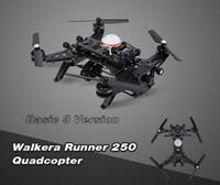 Pas cher d'origine Walkera Runner 250 drones 3 Basic Version RTF RC Quadcopter avec caméra 800TVL HD / OSD / DEVO 7 Transmetteur 1pcs DHL