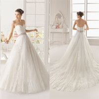 Luxury Sweetheart Sexy Bridal Dress Cheap With Lace Crystal ...