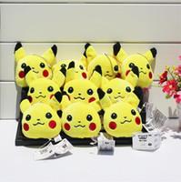 100pcs Poke Plush keychain Pikachu Plush Keychain Pendants S...