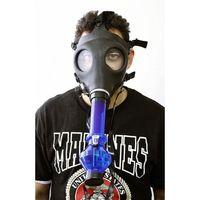 Nouveau Masque Bong Masque de gaz Pipes d'eau Tube d'eau de tabac Pipe d'étoupe acrylique scellé - Bong - filtre Pipe de fumer