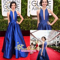 Julia Goldani Telles Royal Blue Dresses 2015 The 72nd Golden...