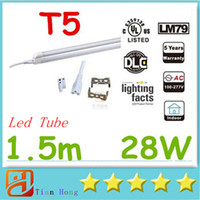 T5 Led Tube Lights Integrated 1. 5m 1500mm 5ft 28W Led LED Fl...