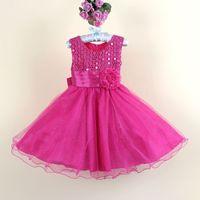Girls Party Dress with flower girls evening dress Children P...