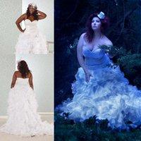 Plus Size Wedding Dresses 2015 Sweetheart Neckline Beaded Zi...