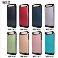Dual Layer Hybrid Plastic Back Cover TPU inner Case For Ipho...