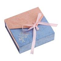 20pcs lot Cubic Gift Box Ribbon Bowknot Rose Flower Jewelry ...