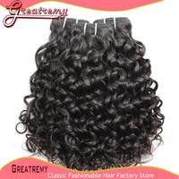 Water Wave Hair Extension 100% Brazilian Virgin Hair Weave W...