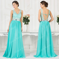 Grace Karin Beaded Long Chiffon Formal Bridesmaid Party Gown...