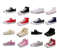 2016 High- quality Classic Low- Top & High- Top canvas Casual s...