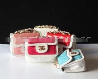 2015 Double C Girls Ladies Mini Bag with Chain Round Bag Fas...