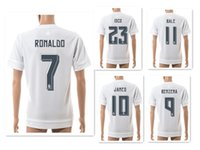 Wholesale 15- 16 Season 7# RONALDO Athletic Soccer Jerseys Sh...
