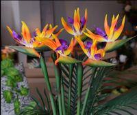 Wedding Bouquet Bird of Paradise Bouquet Artificial Flower f...