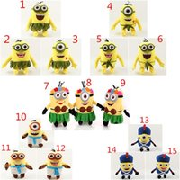 20cm 3D Despicable ME Plush Toy Minion Jorge Stewart Dave Mi...