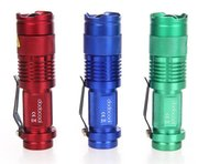 5 Colors Flash Light 300LM CREE Q5 LED Camping Flashlight To...