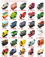 Wooden Small Trains Cartoon Toys 70 Styles Friends wooden Co...