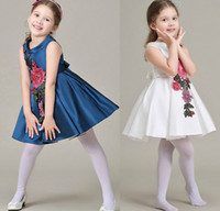 2016 Summer Baby Dresses Elegant Girls Flower Party Dresses ...