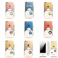 Big Hero Baymax Case for Iphone 6 Iphone 6 Plus TPU 4. 7 5. 5i...