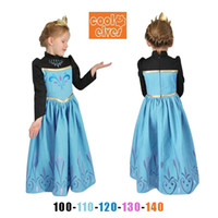 New Autumn Christmas Children Frozen Girl Dresses Princess S...