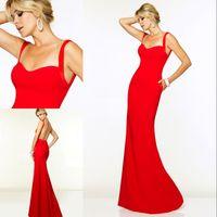 2015 New Elegant and Simple Sheath Evening Dresses Floor Len...