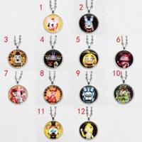12 Design FNAF Fashion Necklace Pendant Five Nights at Fredd...