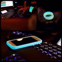 Luminous Bumper Wrist Bracelet Soft Rubber Case Universal Ba...