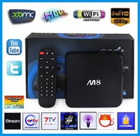 Hot Original M8 TV Box KODI 14. 2 Amlogic S802 Android TV Box...