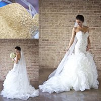 NEW 2016 Hot Wholesale Custome Made Mermaid Wedding dresses ...