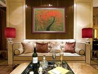 Сливы серии Pure Ручная роспись маслом палитра высокого качества для дома и офиса украшения Искусство Живопись Холст JL261