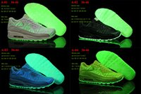 Max 90 Designer Sneakers Woman 2016 Summer Fashion LED Shoes...