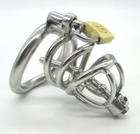 Latest Design Stainless Steel Small Male Chastity device Adu...