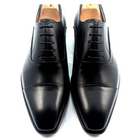 Men Dress shoes Men' s shoes Custom handmade shoes Genui...