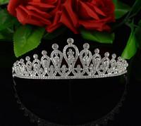 Bride crown Handmade Bridal Headpiece crystal Bridal wedding...