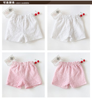 Fine supply shorts for children during the summer of 2015 ba...